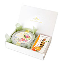 WEDDING 50g缶 (ブーケ・ローズ)&ロンポワン (ダージリン&オレンジ)