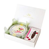 WEDDING 50g缶 (ブーケ・ローズ)&ロンポワン (アールグレイ&ラズベリー)