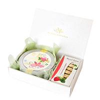 WEDDING 50g缶 (ブーケ・ローズ)&ロンポワン (ジャスミン&ストロベリー)