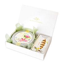 WEDDING 50g缶 (ブーケ・ローズ)&ロンポワンクラシック バニラ