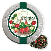 とちおとめ 〜苺の緑茶〜50gデザイン缶入