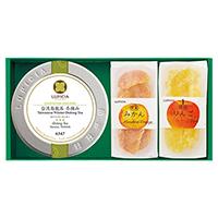 旬の台湾茶とお菓子「芳純(ほうじゅん)」