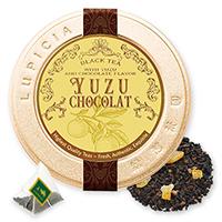 柚子ショコラティーバッグ5個プチ缶入