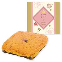 桜とプルーンのケーキ