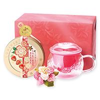 紅茶と茶器「春模様」