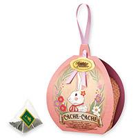 カシュカシュティーバッグ5個限定デザインBOX入(ピンク)