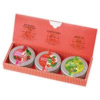 プチ缶ティーバッグセット 3種(フルーツのお茶)