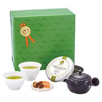 日本茶と茶器とお菓子「薫風(くんぷう)」