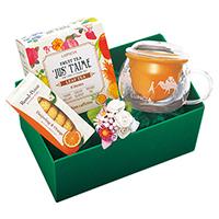 フルーツティーと茶器「ボンヌ シャンス」