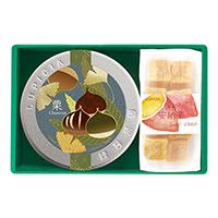 緑茶とお菓子「実り」