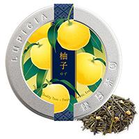 柚子50g限定デザイン缶入
