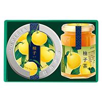緑茶と柚子茶「結び」