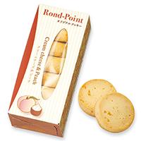 ロンポワン クリームチーズ&ピーチ