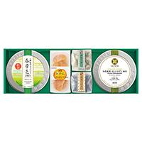 日本茶2種とお菓子「緑風」