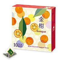 金柑ティーバッグ10個限定デザインBOX入