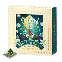 ホワイトクリスマスティーバッグ10個限定デザインBOX入
