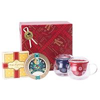 紅茶と茶器とお菓子「デュオ」