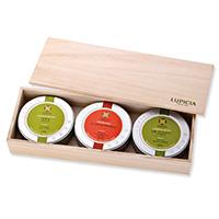 ルピシアセレクション 3缶木箱入(紅茶・日本茶・烏龍茶)
