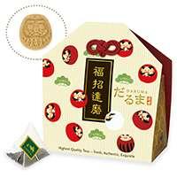 福始め 紅茶とお砂糖のセット(ダルマ)