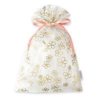 オーガンジー巾着袋 サクラ(ピンク)