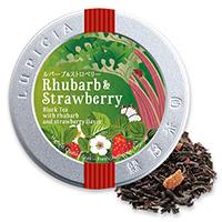 ルバーブ&ストロベリー40g限定デザイン缶入
