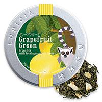 グレープフルーツ(緑茶)50g限定デザイン缶入