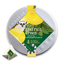 グレープフルーツ(緑茶)ティーバッグ10個限定デザイン缶入