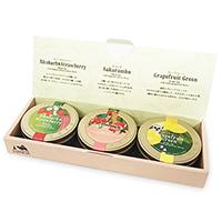 プチ缶ティーバッグセット3種(フルーツ香るお茶)