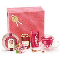紅茶と茶器とスイーツ「バラエティー」