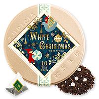ホワイトクリスマスティーバッグ10個限定デザイン缶入