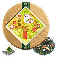福俵ティーバッグ10個限定デザイン缶入