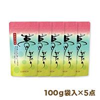 抹茶入り煎茶「夢がたり」【まとめ買いセット】100g袋入×5点