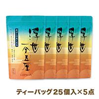 深蒸し煎茶「浮世一分五厘」【まとめ買いセット】ティーバッグ25個入×5点