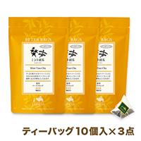 ミント甜茶【まとめ買いセット】ティーバッグ10個入パック×3