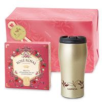 紅茶と茶器「ロワイヤル」