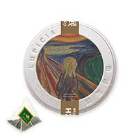 ムンク展オリジナルティー ティーバッグ5個プチ缶入「叫び」