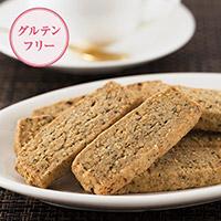 米粉と胡麻のショートブレッド