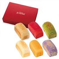 コロポックルの食パン 6種セット (いろいろ野菜シリーズ)