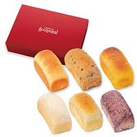 コロポックルの食パン 6種セット (果物とミルクシリーズ)