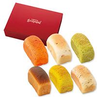 コロポックルの食パン 6種セット (スパイスとハーブシリーズ)