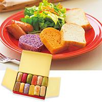 コロポックルの食パン 12種セット (ベジタブル&スパイス)