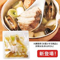 海鮮生姜スープ
