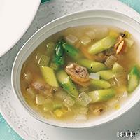 春アサリのスープ