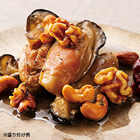 厚岸産牡蠣とナッツのスモーク