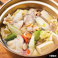 あったか生姜の海鮮潮鍋(カイセンシオナベ)