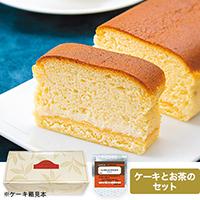 濃厚スフレチーズケーキ&LA BELLE EPOQUE