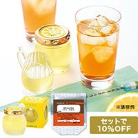 生詰檸檬蜜と紅茶