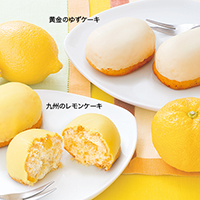 九州のレモンケーキと黄金のゆずケーキ
