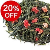 【ボンマルシェ】とちおとめ 〜苺の緑茶〜 パック製品・50g