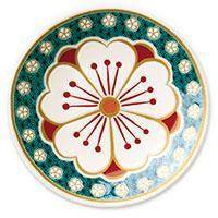 オリジナル 豆皿 桜花紋(おうかもん)